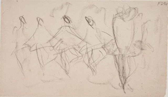 An image of (Figures dancing) (Late Sydney Period)