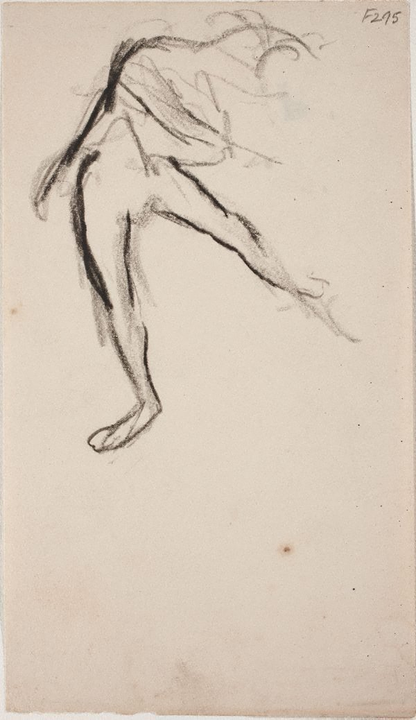 An image of (Figure study of a dancer) (Late Sydney Period)
