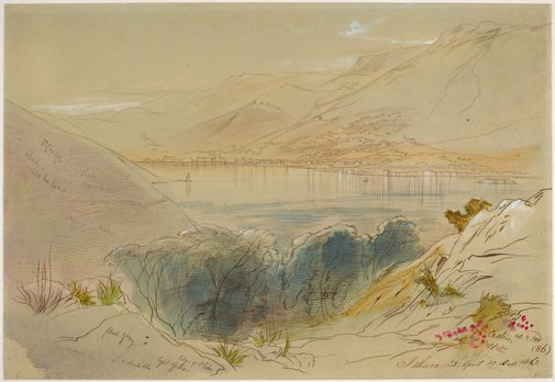An image of Ithaca by Edward Lear