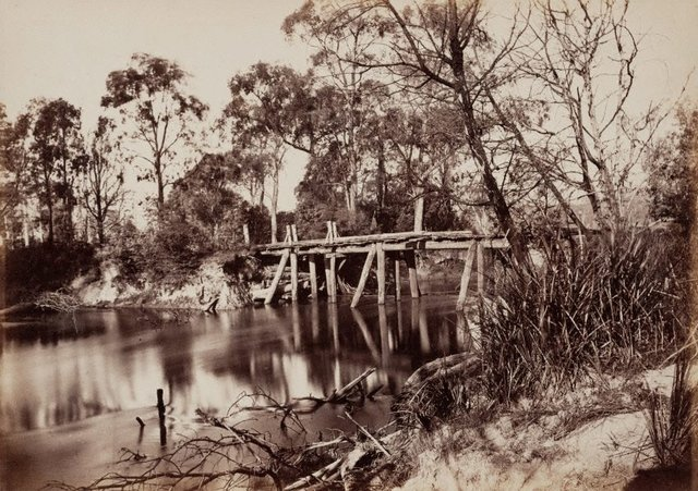 An image of Junction of the Rivers Yarra and Watt, near Healesville