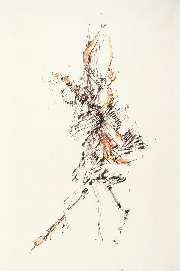 An image of Untitled drawing 1965