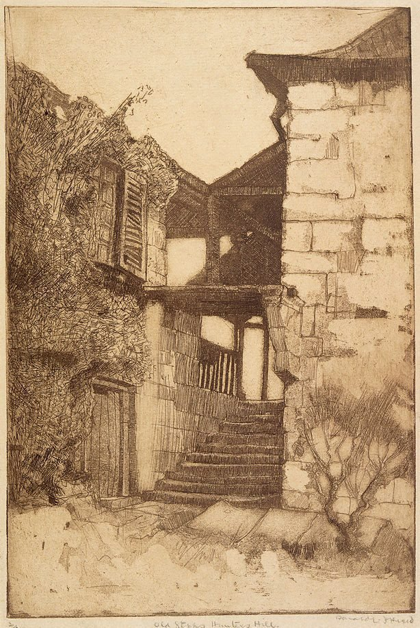 An image of Old steps, Hunters Hill