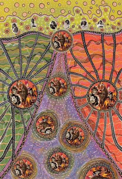 An image of You don't even look Aboriginal by Bronwyn Bancroft
