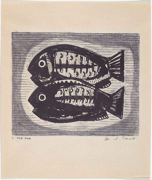 An image of The fish by James Cant