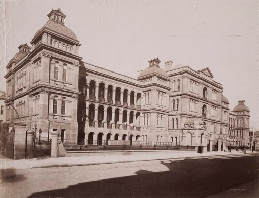 An image of Sydney Hospital by Unknown, NSW Government Printer