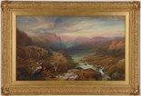 Alternate image of Evening, Loch A'an, Grampians, Aberdeenshire by Thomas Miles Richardson Jnr