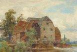 Alternate image of The mill pool, Hemingford Grey by Sir Ernest Albert Waterlow
