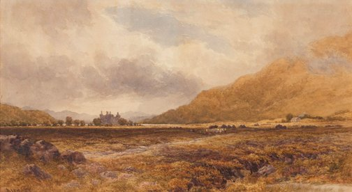 An image of Kilchurn Castle, Loch Awe by David Law