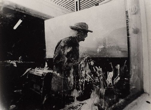 An image of Lloyd Rees, Sydney by Lewis Morley