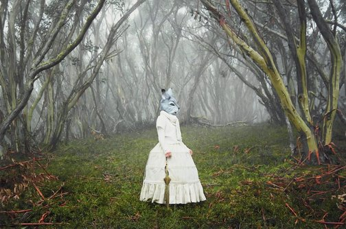 An image of The visitor by Polixeni Papapetrou