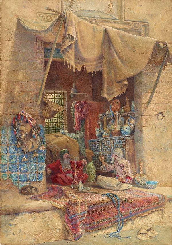 An image of Bazaar gossip