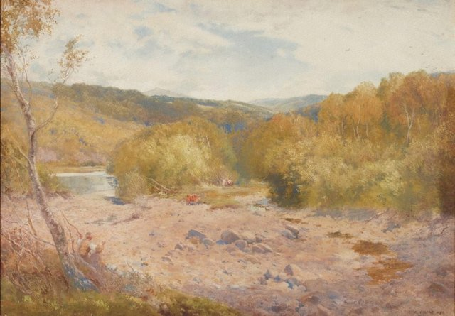 An image of Valley of the Dart, Devonshire