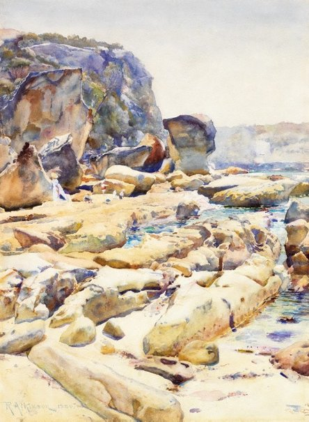 An image of The Bluff, Middle Harbour, Sydney by Robert Atkinson