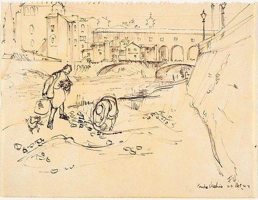 An image of Ponte Vecchio by Frank Hodgkinson
