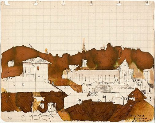 An image of Santa Croce by Frank Hodgkinson