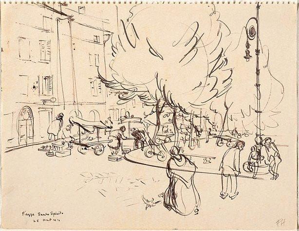 An image of Piazza Santo Spirito