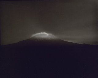 AGNSW collection Laurence Aberhart Taranaki from Oeo Road, under Moonlight, 27-28 September 1999 1999, printed 2000