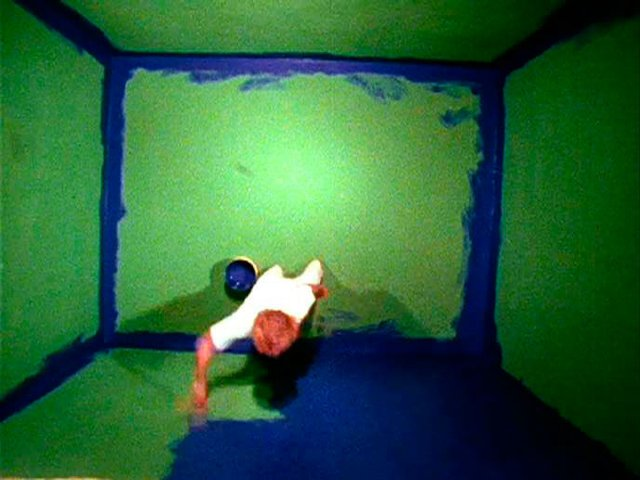 Six colorful inside jobs, (1977) by John Baldessari