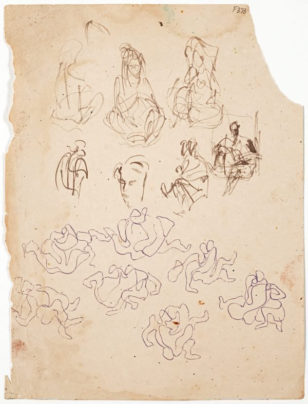 An image of (Abstract figure studies) (Late Sydney Period)