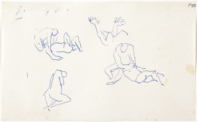 An image of (Abstract studies) (Late Sydney Period)