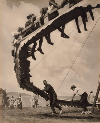 AGNSW collection Harold Cazneaux The wheel of youth (1929) 113.1975