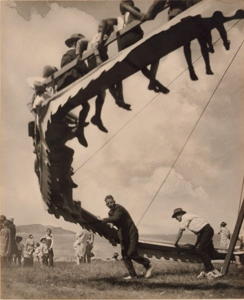 An image of The wheel of youth by Harold Cazneaux