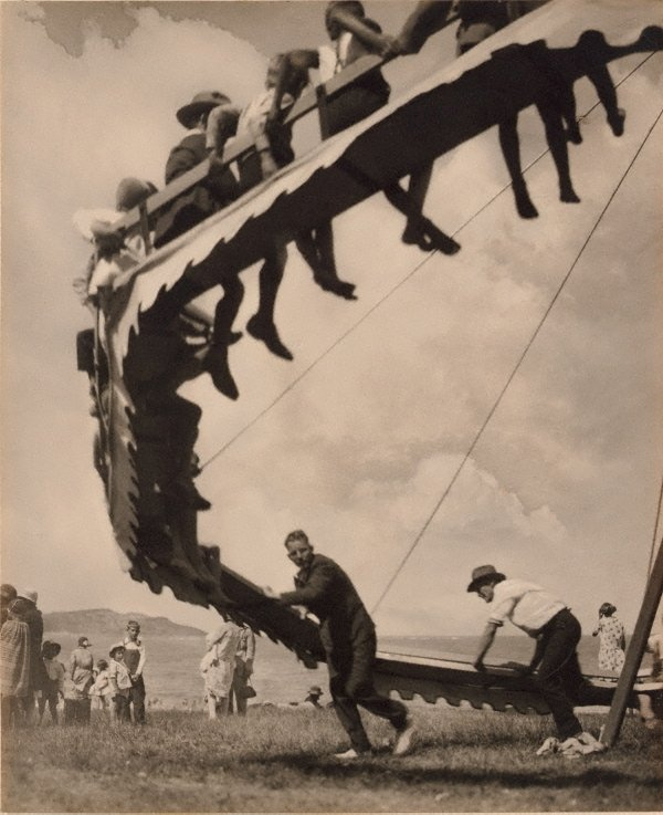 The wheel of youth, (1929) by Harold Cazneaux