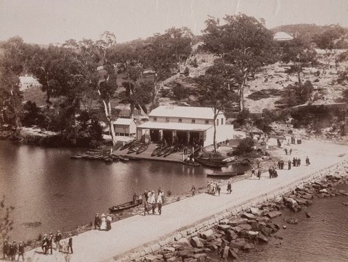 An image of Holiday time at National Park by Unknown, NSW Government Printer