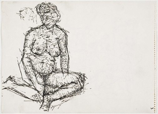 An image of Untitled (Female nude) by Roger Kemp