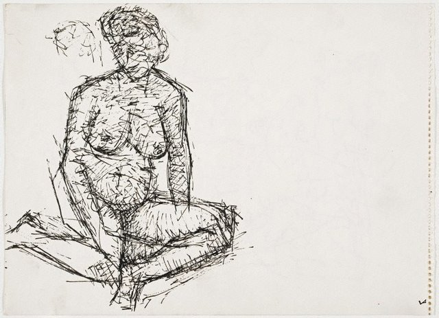 An image of Untitled (Female nude)