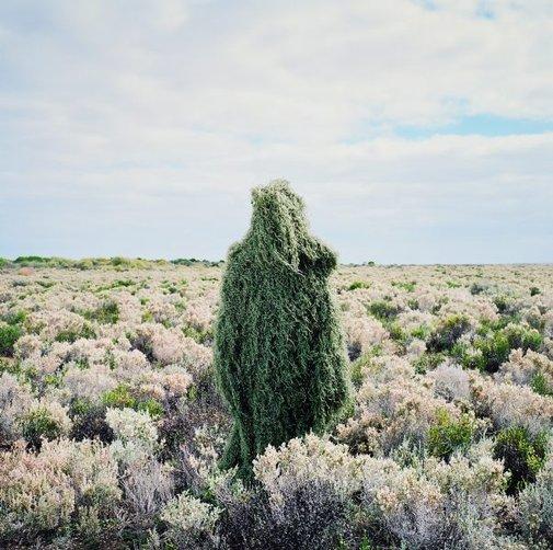An image of Scrub man by Polixeni Papapetrou