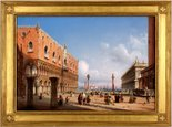 Alternate image of View of St Mark's Square Venice by Carlo Bossoli