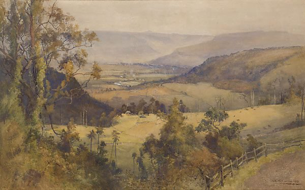 An image of Kangaroo Valley, New South Wales