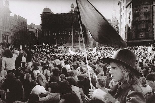 An image of Vietnam march George street