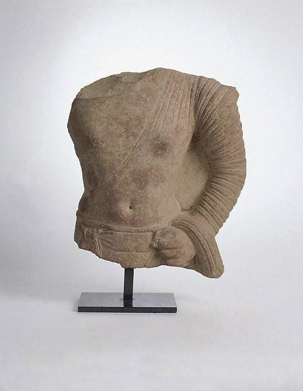 An image of Torso of a Buddha