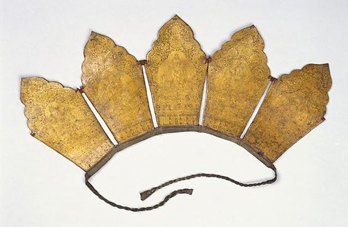 An image of Five bladed ritual crown by