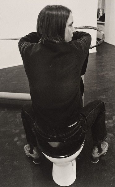 An image of Sarah Lucas, artist, Berlin by Lewis Morley