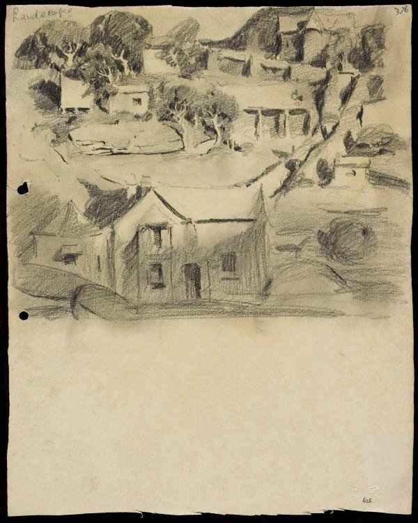 An image of Landscape with houses