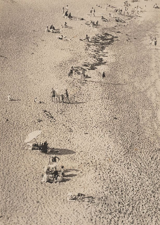 An image of Beach scene, Bondi
