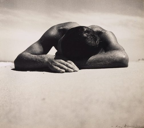 An image of Sunbaker by Max Dupain