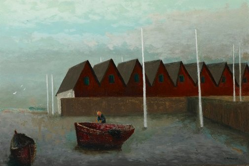An image of Summer night, Mullerup by Sali Herman