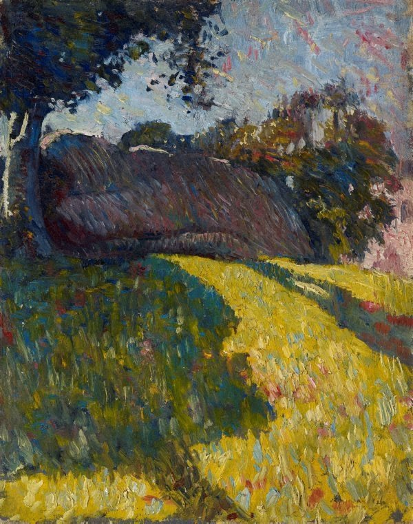 AGNSW collection Roland Wakelin The outcrop (1915) 115.1981