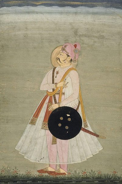 An image of A rajah of Bikaner by