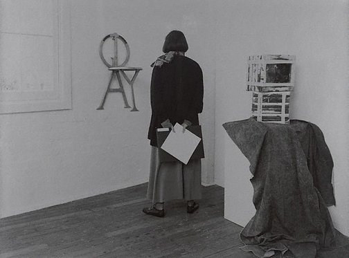 An image of Kerry Crowley, gallerist, 'Another time, another place, another chair', Sydney by Lewis Morley