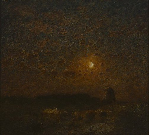 An image of Where the dark earth sleeping lies by Edward Stott