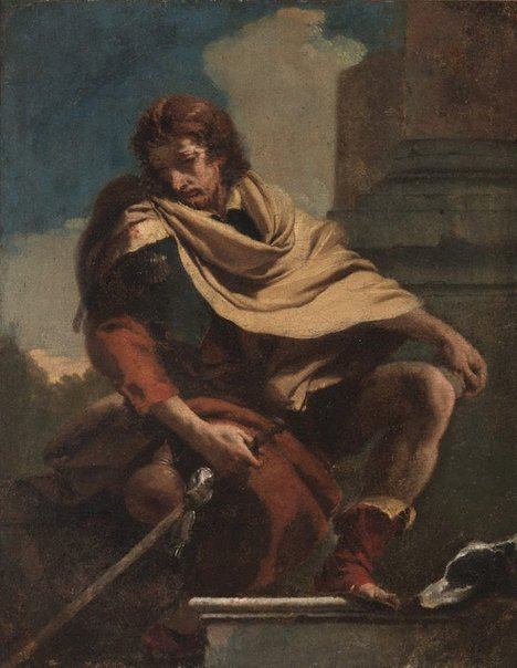 An image of St Roch by Giambattista Tiepolo