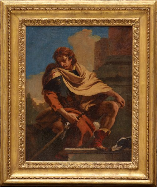 An image of Saint Roch by Giambattista Tiepolo