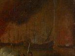 Alternate image of Naval battle scene by attrib. Peter Monamy