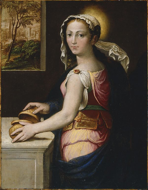 An image of Mary Magdalene