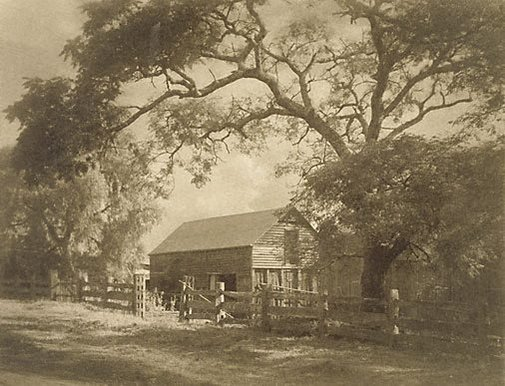 An image of The barn by Richard V Simpson